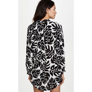 Mikoh Swim - Mikoh Island Night Cannes Tunic Cover Up Blouse